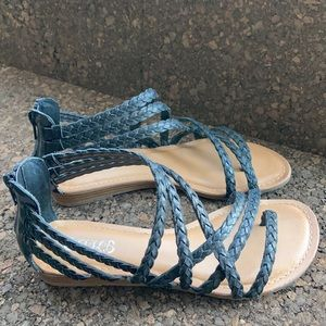 EUC Gladiator Low Profile Thong Sandals